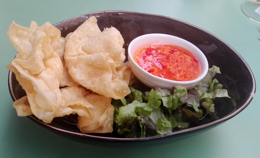 Knusprige Wan Tan, Nguyen's, Bild (c) Claudia Busser - kekinwien.at