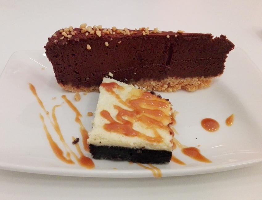 Schokoladenkuchen, Cheesecake, Spoon, Bild (c) Claudia Busser - kekinwien.at