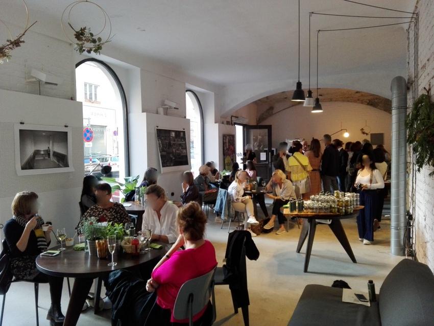 Noan Herbs, Pressetermin im 'Das Zimmer' in der Piaristengasse, Bild (c) Claudia Busser - kekinwien.at