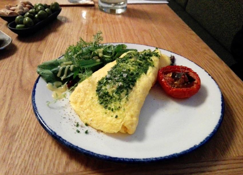 Omelette à la française im Café Kandl, Bild (c) Claudia Busser - kekinwien.at