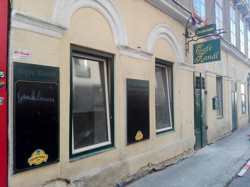 Das Café Kandl vor seiner Neuübernahme, Kandlgasse 12,1070 Wien, Bild (c) Claudia Busser - kekinwien.at