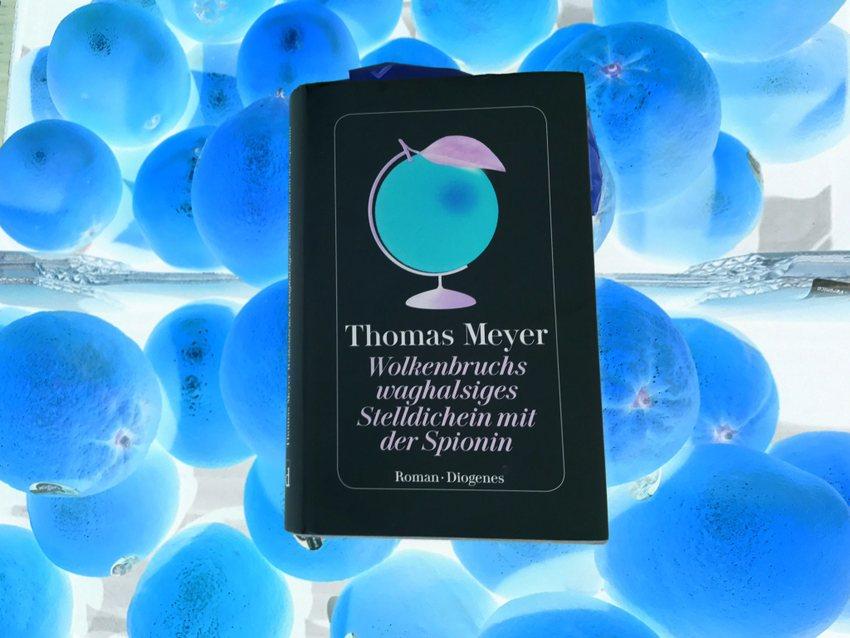 Wolkenbruchs waghalsiges Stelldichein mit der Spionin, Collage zum neuen Roman von Thomas Meyer, Bild (c) Alexandra Wögerbauer-Flicker - kekinwien.at
