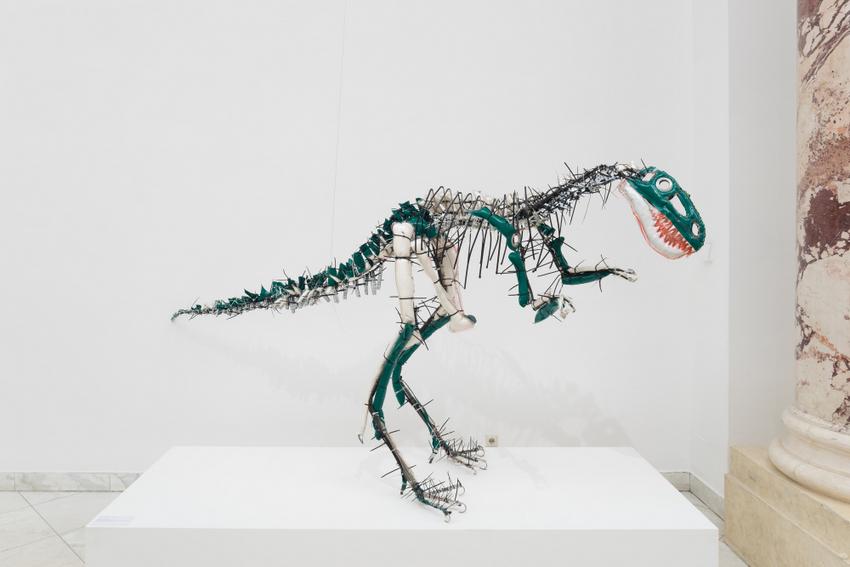Flying High, Ausstellungsansichten, Julia Krause-Harder, Nanotyrannus, Bild (c) Nilo Klotz