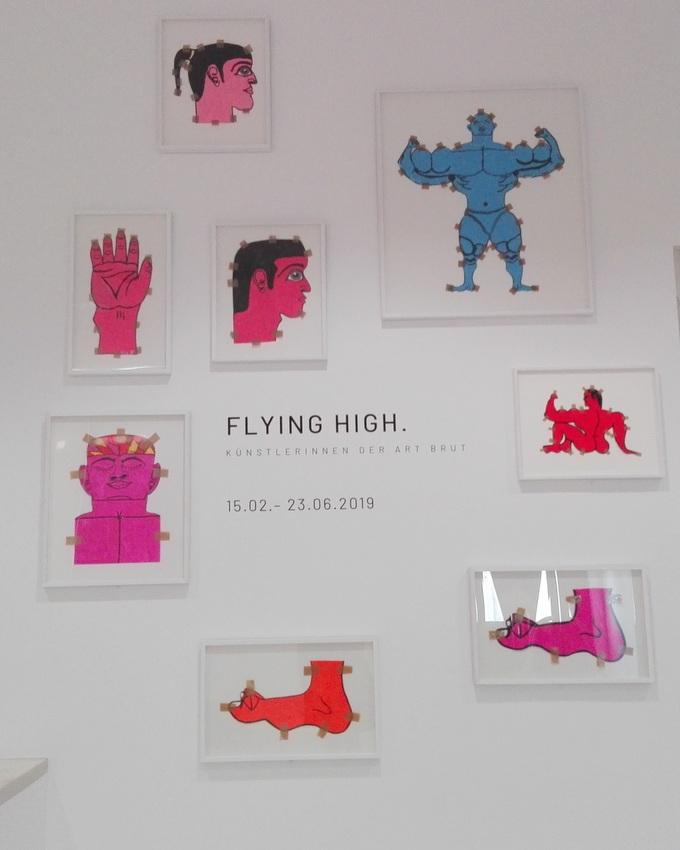 im Foyer der Kunstforum Bank Austria, Arbeiten von Misleidys Castillo Pedroso, Foto (c) Claudia Busser - kekinwien.at
