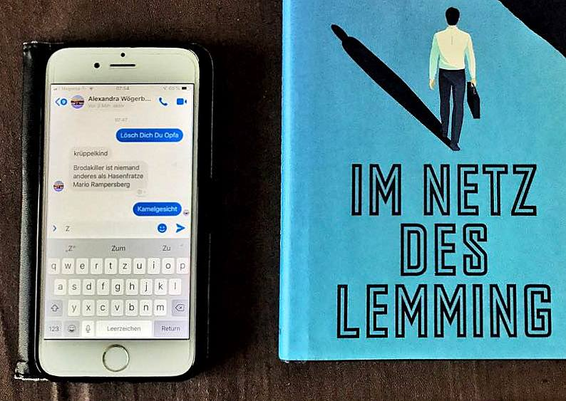 Im Netz des Lemming, ein genialer Krimi von Stefan Slupetzky, Ausschnitt, Bild (c) Alexandra Wögerbauer-Flicker - kekinwien.at