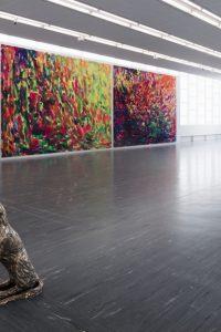 Brandl, Ausstellungsansicht, Bild (c) Markus Wörgötter
