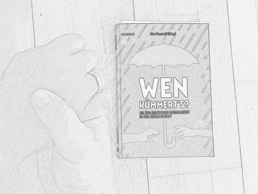 Wen kümmert's? Collage zum Buch, Bild (c) Alexandra Wögerbauer-Flicker - kekinwien.at