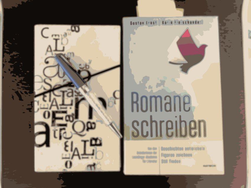 Romane schreiben, Collage (c) Alexandra Wögerbauer-Flicker - kekinwien.at
