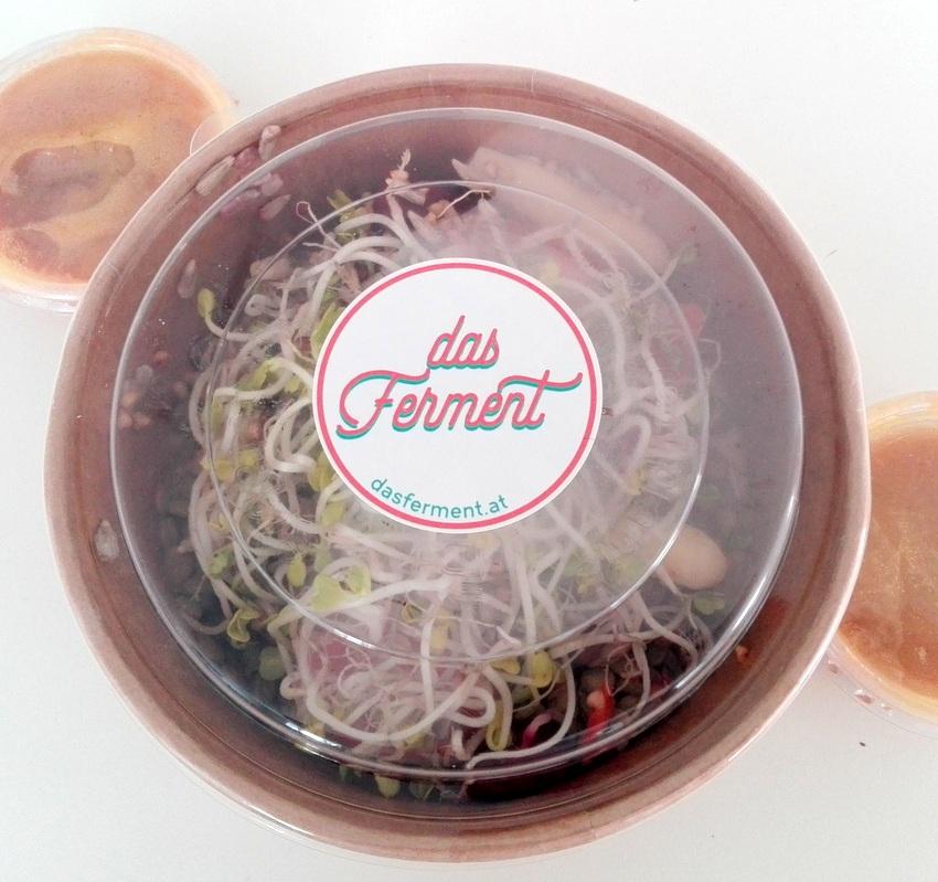 Kerndlsalat, auch zum Mitnehmen von das Ferment, Bild (c) kekinwien.at