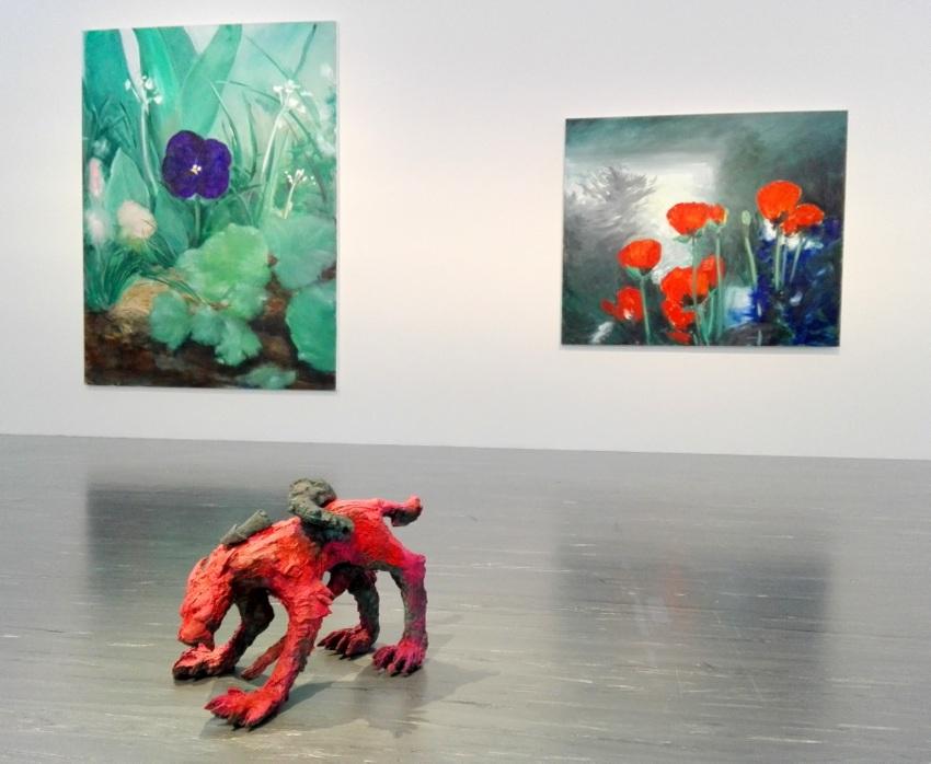 Ausstellungsansicht, Herbert Brandl, Bild (c) kekinwien.at