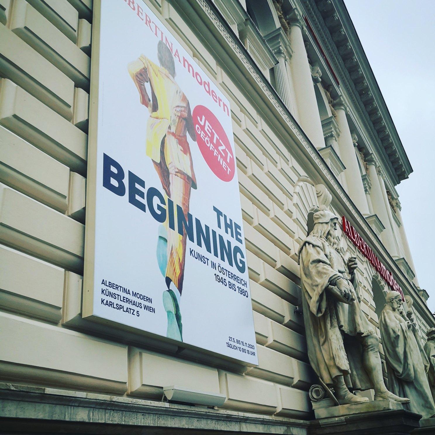 The Beginning, Albertina Modern, Bild (C) Andrea Pickl - kekinwien,at