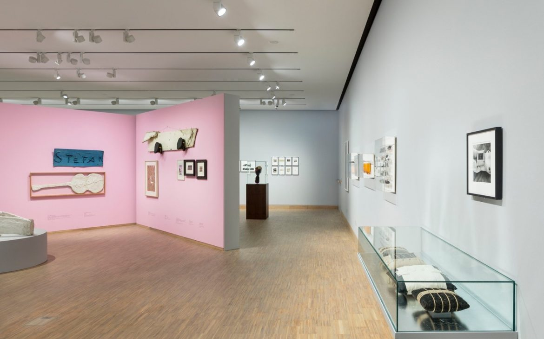 Ausstellungsansicht The Beginning, Foto (c) Albertina Modern
