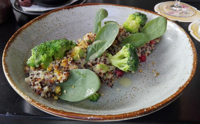 Quinoa Salat im Three Trees, Bild (c) Claudia Busser - kekinwien.at
