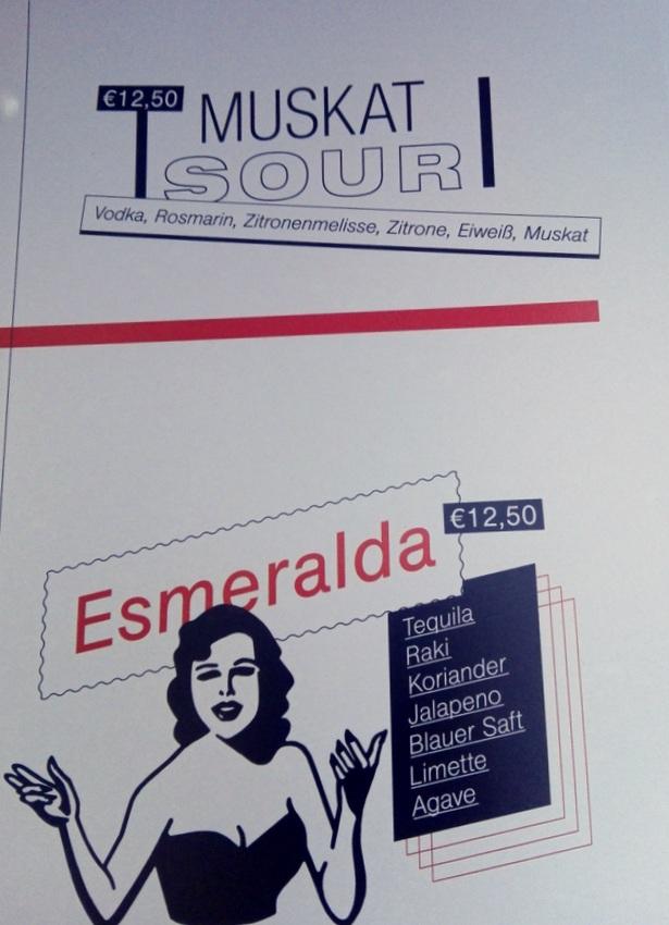 Cocktailkarte, Hausbar, Bild (c) kekinwien.at