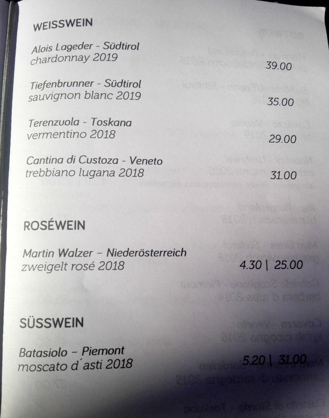 weiter geht's in der Weinkarte, Bild (c) kekinwien.at